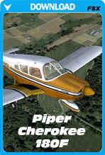 Piper Cherokee 180F (FSX)