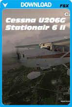 Cessna U206G Stationair 6 II (FSX)