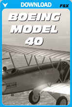 Boeing Model 40 (FSX)