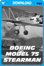 Boeing Model 75 Stearman (FS2004)