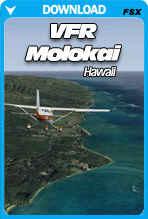 VFR Molokai Hawaii X