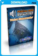FS2Crew 2010 Voice Commander: Default 737 Edition (FS2004)