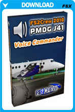 FS2Crew 2010: PMDG Jetstream 4100 Voice Commander Edition