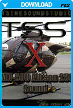 MD-500 Soundpack for FSX