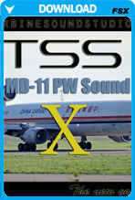 MD-11 PW SoundPack For FSX