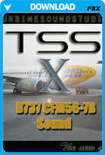 Boeing 737NG CFM56-7B Soundpack for FSX