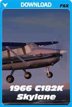 1966 Old School Skylane Cessna 182K (FSX)
