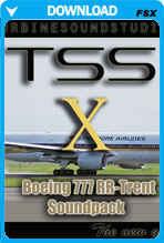 Boeing 777 Trent soundpack for FSX