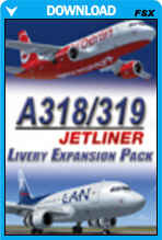 A318/A319 Jetliner Livery Expansion Pack