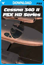 Carenado Cessna C340 II HD SERIES (FSX/P3D)
