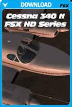 Carenado Cessna C340 II HD SERIES (FSX/P3D)