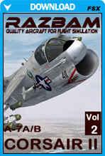 RAZBAM A-7E and A-7D Corsair II for FSX - Volume II