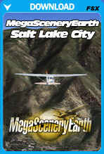 MegaSceneryEarth City Pack - Salt Lake City