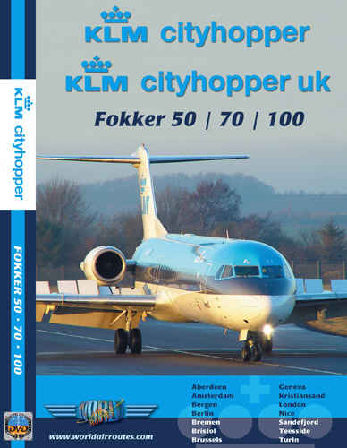 Just Planes DVD - KLM Cityhopper