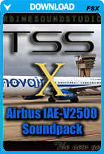 Airbus IAE-V2500 Soundpack for FSX