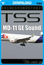 MD-11 GE SoundPack For FS2004