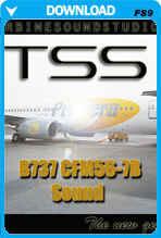 737-300CFM-56-7b 'New Generation' Soundpack