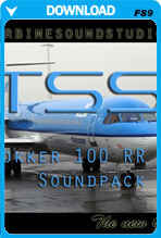 Fokker 100 RR-Tay Soundpack for FS2004