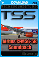 Airbus CFM56-5B Soundpack for FS2004
