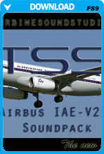 Airbus IAE-V2500 Soundpack for FS2004