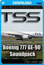 Boeing 777 GE-90 Soundpack For FS2004
