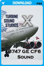 Boeing 747 GE SoundPack For FSX