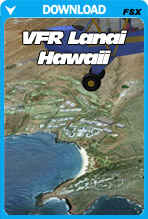 VFR Lanai Hawaii X
