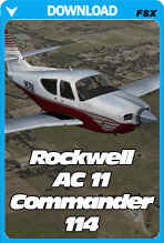 Carenado Rockwell AC11 Commander 114