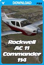 Carenado Rockwell AC11 Commander 114