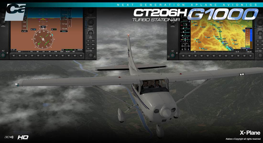 CT206H Staionair HD Extension Pack for X-Plane