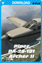 PA28 Archer II For XPlane