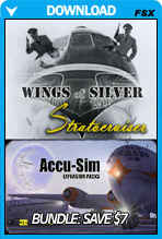 Wings of Silver: Boeing 377 Stratocruiser And Accusim Bundle