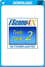 FScene4X - Twin Pack 2 - Europe And Africa