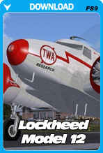 Lockheed Model 12 For FS2004