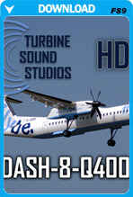 Dash 8 Q400 soundpack for FS2004