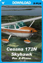 Cessna 172N Skyhawk For XPlane