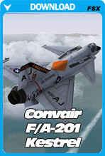 Convair F/A-201 Kestrel