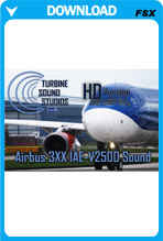 TSS Airbus 3XX IAE-V2500 HD FSX Sound Set