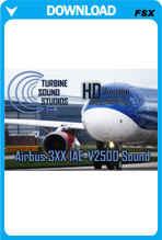 TSS Airbus 3XX IAE-V2500 HD FSX Sound Set