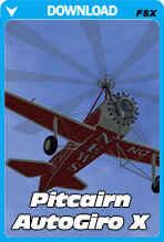 Pitcairn Autogiro for FSX