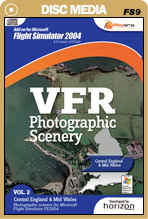 VFR Photographic Scenery - Volume 2 Central England & Mid Wales for FS2004