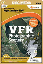 VFR Photographic Scenery - Volume 5 Scotland: Orkney and Shetland Isles for FS2004