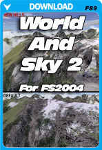 World and Sky 2 For FS2004