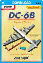 DC-6B - Legends Of Flight
