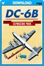 DC-6B - Legends Of Flight Expansion Pack