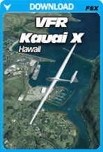VFR Kauai Hawaii X