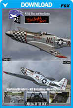 Mustang P-51D Then And Now Series - Twilight Tear