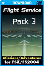 FSX Missions - Flight Service Pack 3