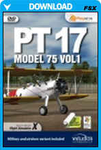 Stearman PT17 Model 75 Volume 1
