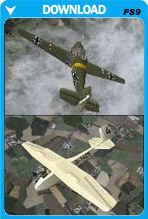 Bucker Bu 181 Bestmann/Grunau Baby Glider Dual Pack